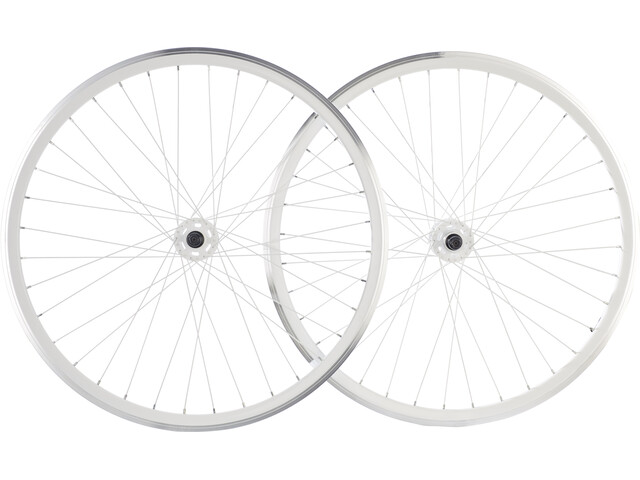 "Point SingleSpeed Wheelset 28"" white"